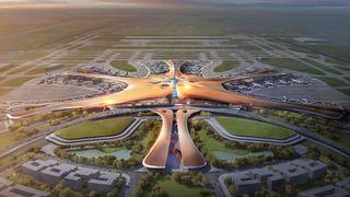 Slik blir verdens største flyplass