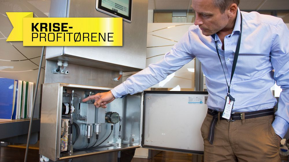 Haugesund-selskapet Mera skal levere sin teknologi for tilstandsovervåking av hydrauliske systemer til blant andre Statoils spareprogram. Gründer Erling Iversen forklarer at sensorene fungerer ved at de måler endringer i oljestrømmen.