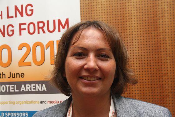 LNG-rådgiver Olga Vedernikova i CS LNG tror ikke det blir noe kapasitetsproblem ved verftene selv om behovet er anslått til 50-55 nye LNG-skip de neste fem årene.