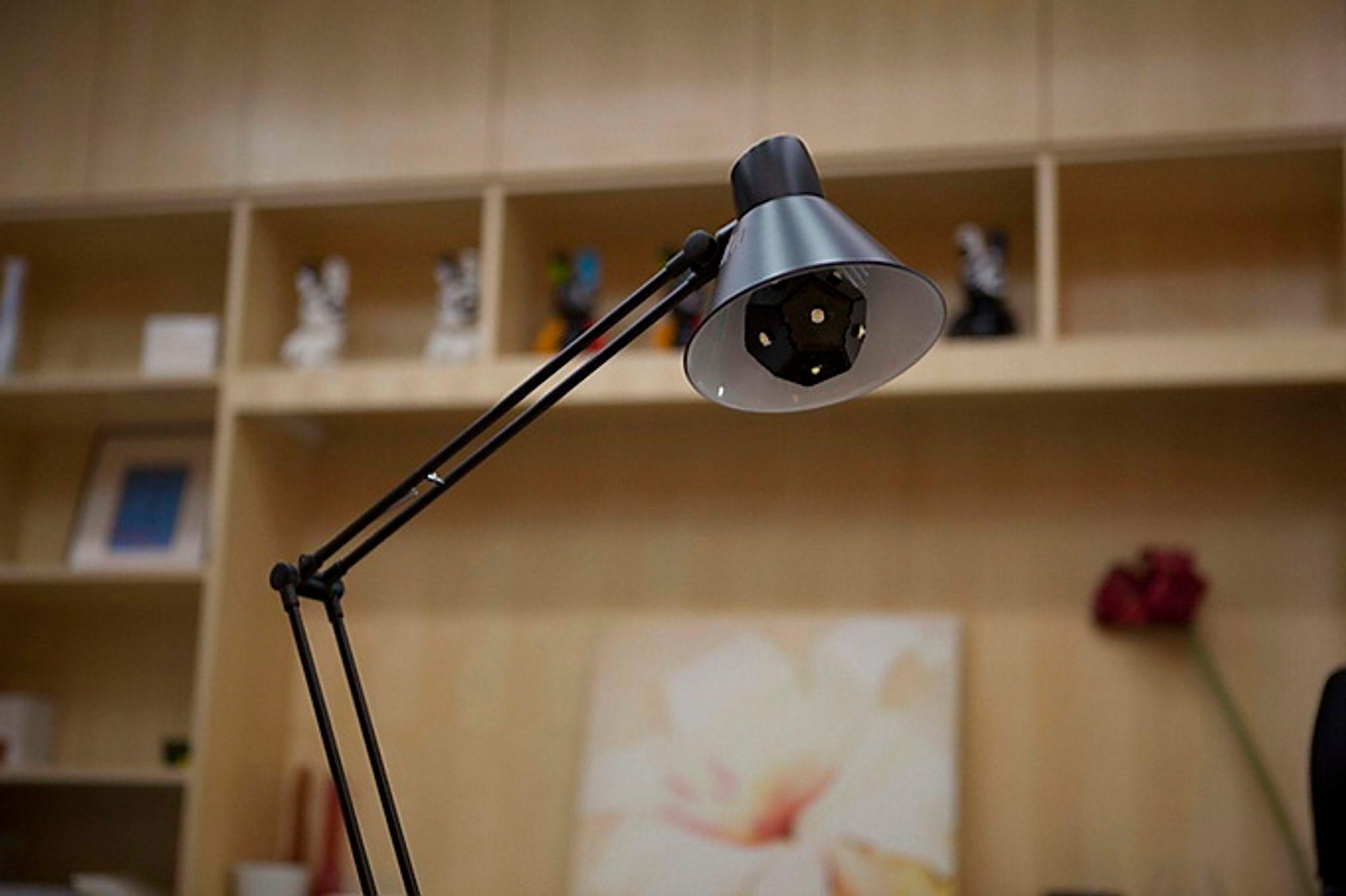 Investor-dugnad: Den kantete LED-pæren, som nå er kåret til verdens mest effektive, kom på markedet ved hjelp av en Kickstarter-aksjon i 2013.