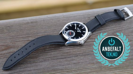 Alpina Horological Smartwatch får et Anbefalt-stempel i vår bok.