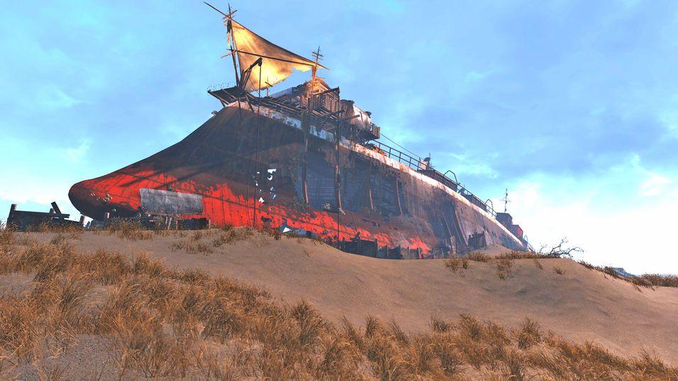 Har du besøkt dette skipet i Fallout 4?
