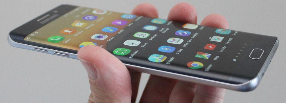 I Telenors tester av tale over LTE i Aalborg, ble Samsung Galaxy S6 benyttet. .