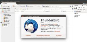 Slik ser Thunderbird ut i dag.