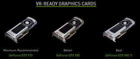 Disse grafikkortene anbefaler Nvidia til VR.