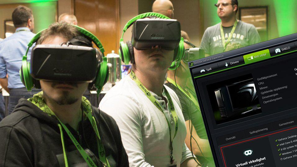 PC-en din er kanskje ikke kraftig nok til VR