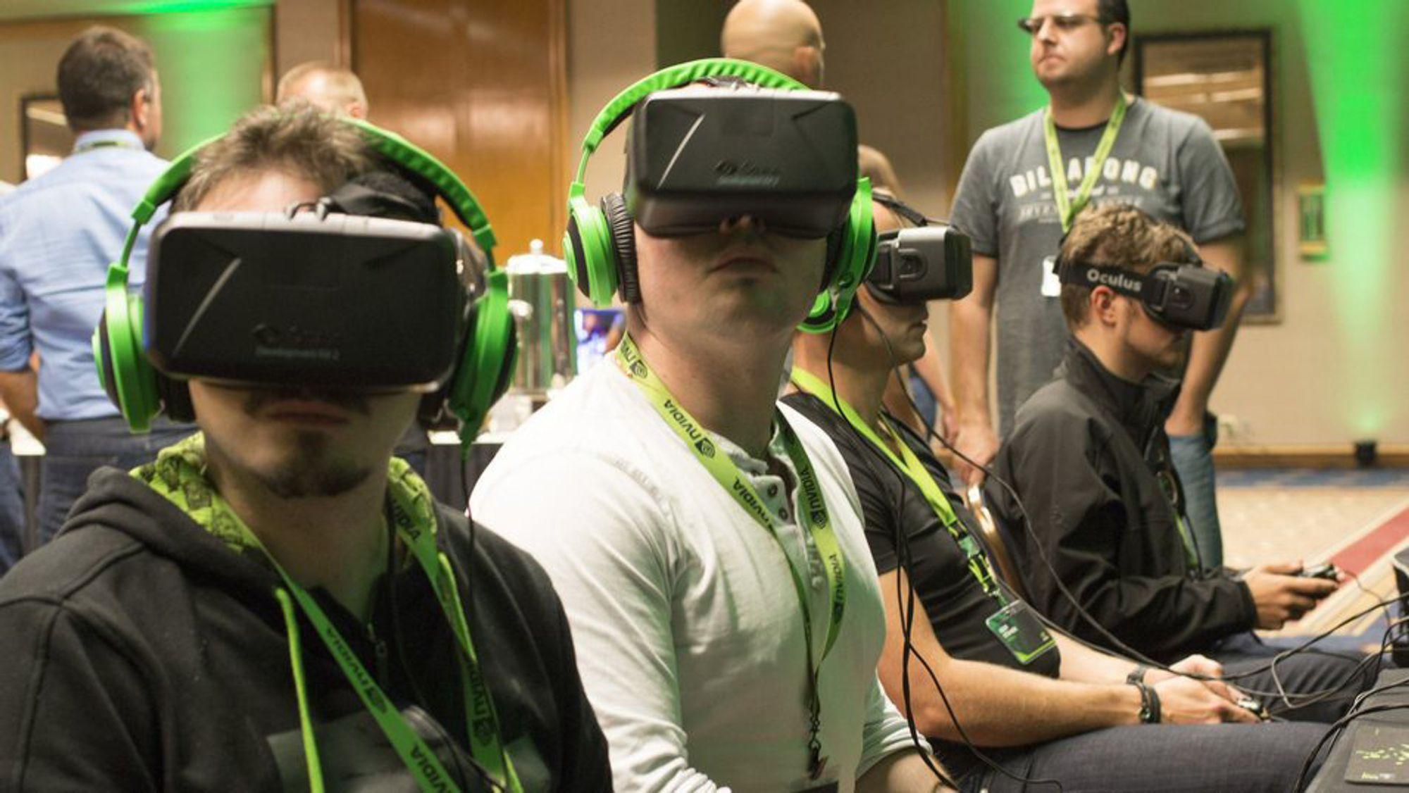 Nvidia og AMD er nå klare med drivere for å gjøre VR-opplevelsen silkemyk.