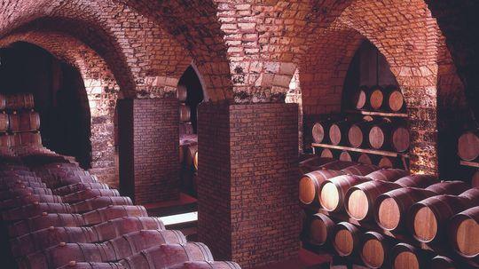 Chateau Musar Cellar.