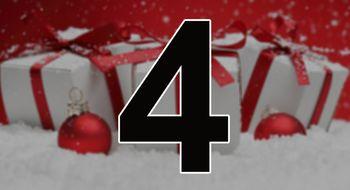 Vi åpner luke nummer fire i julekalenderen