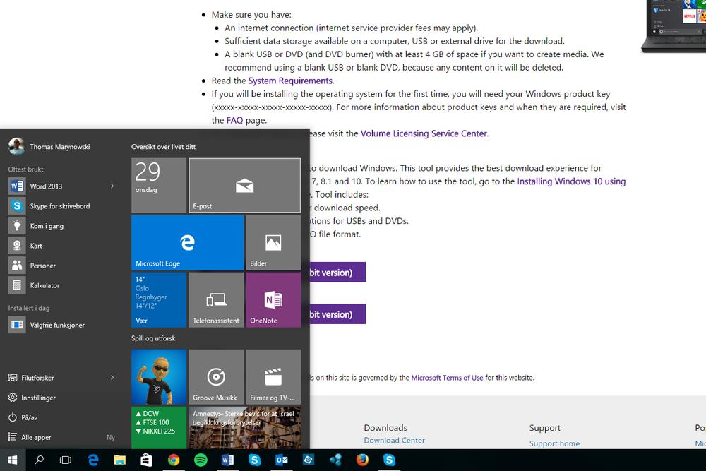 Man kan få oppgradert til Windows 10 uten å vente på utrulling.