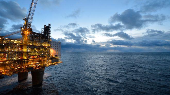 Skyter 4G-dekning fra oljeplattformene. 70 kilometer ut