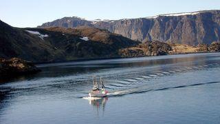 Reketråler sagde over sjøfiber med jernsag