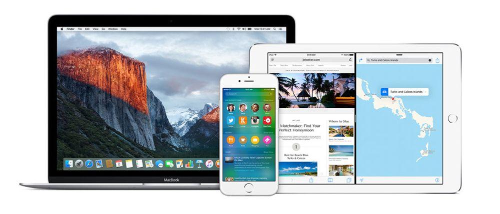 Både OS X El Capitan og iOS 9 kan nå betatestes av alle som vil.