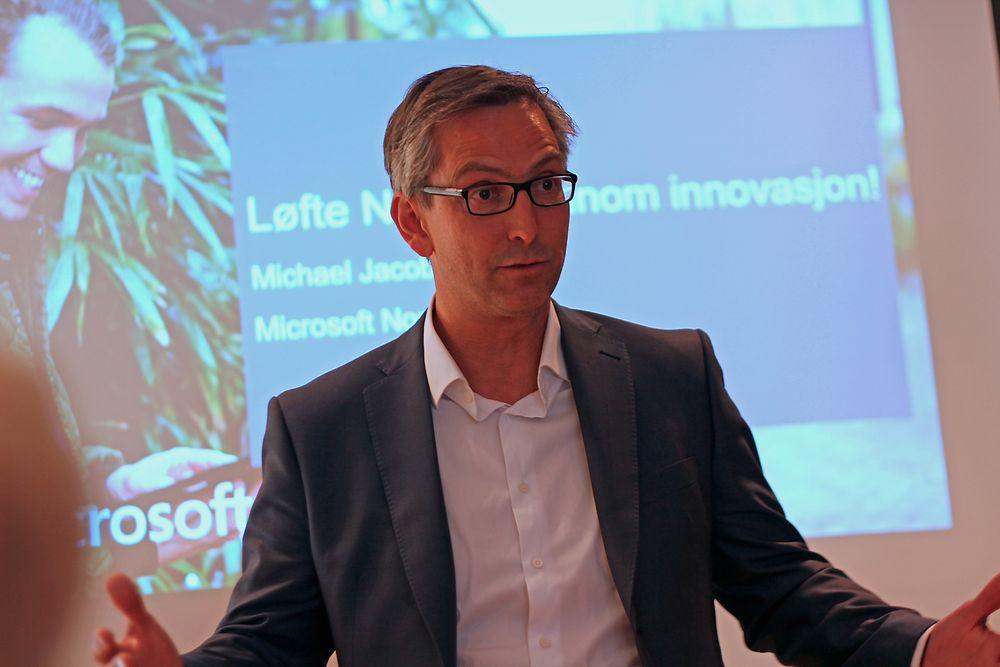 Michael Jacobs (48) har sagt opp i Microsoft for å bli ny Atea Norge-sjef.