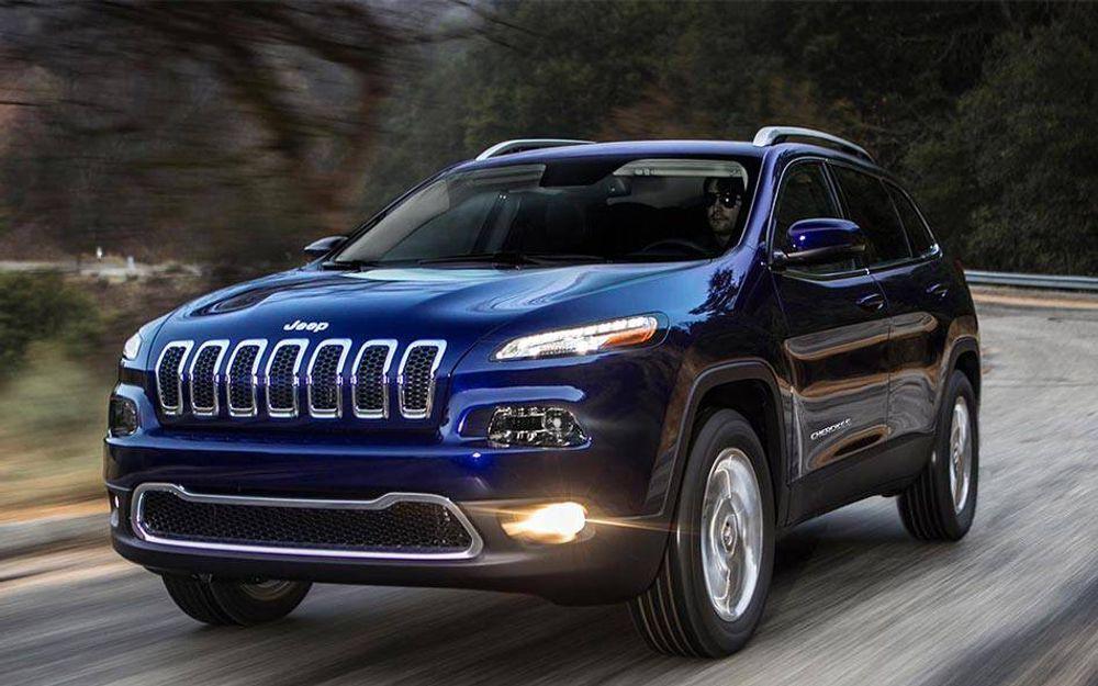 En Jeep Cherokee av denne typen kan tas over fullstendig av hackere.