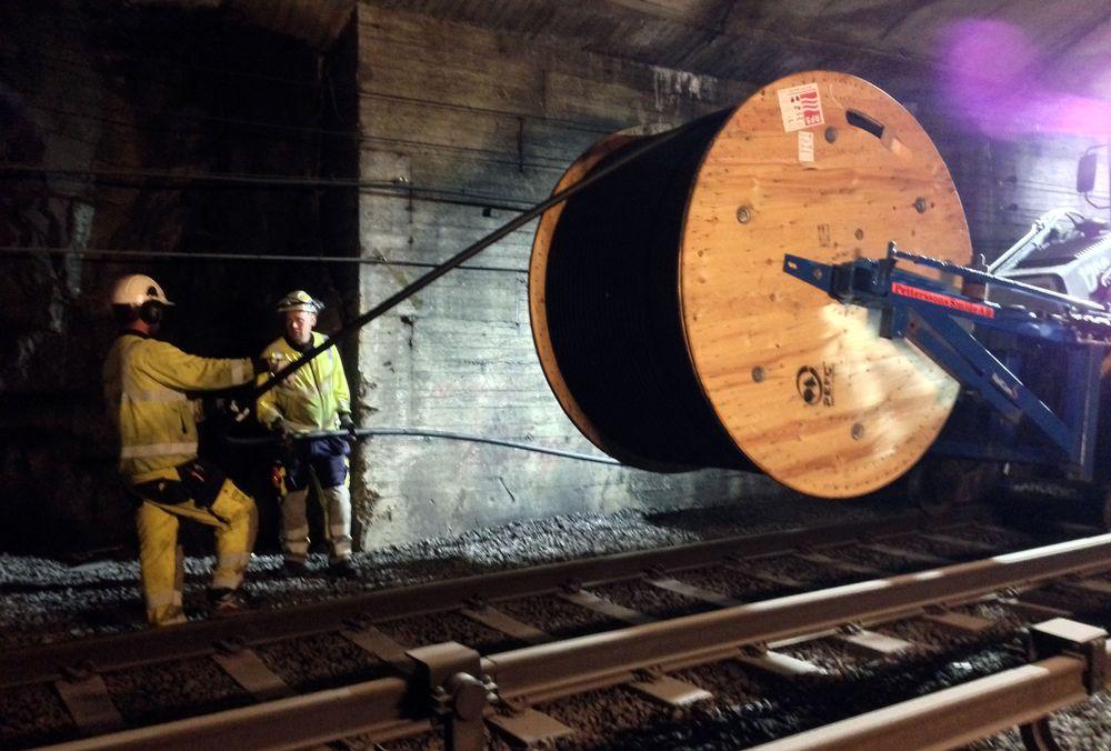 Stadig flere T-bane-tuneller i Oslo får god datadekning.
