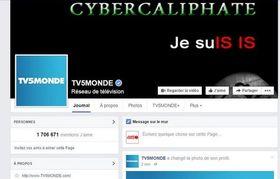 I tillegg til angrepet mot TV5Mondes interne systemer ble også selskapets sosiale medier-kontoer kapret og vandalisert.