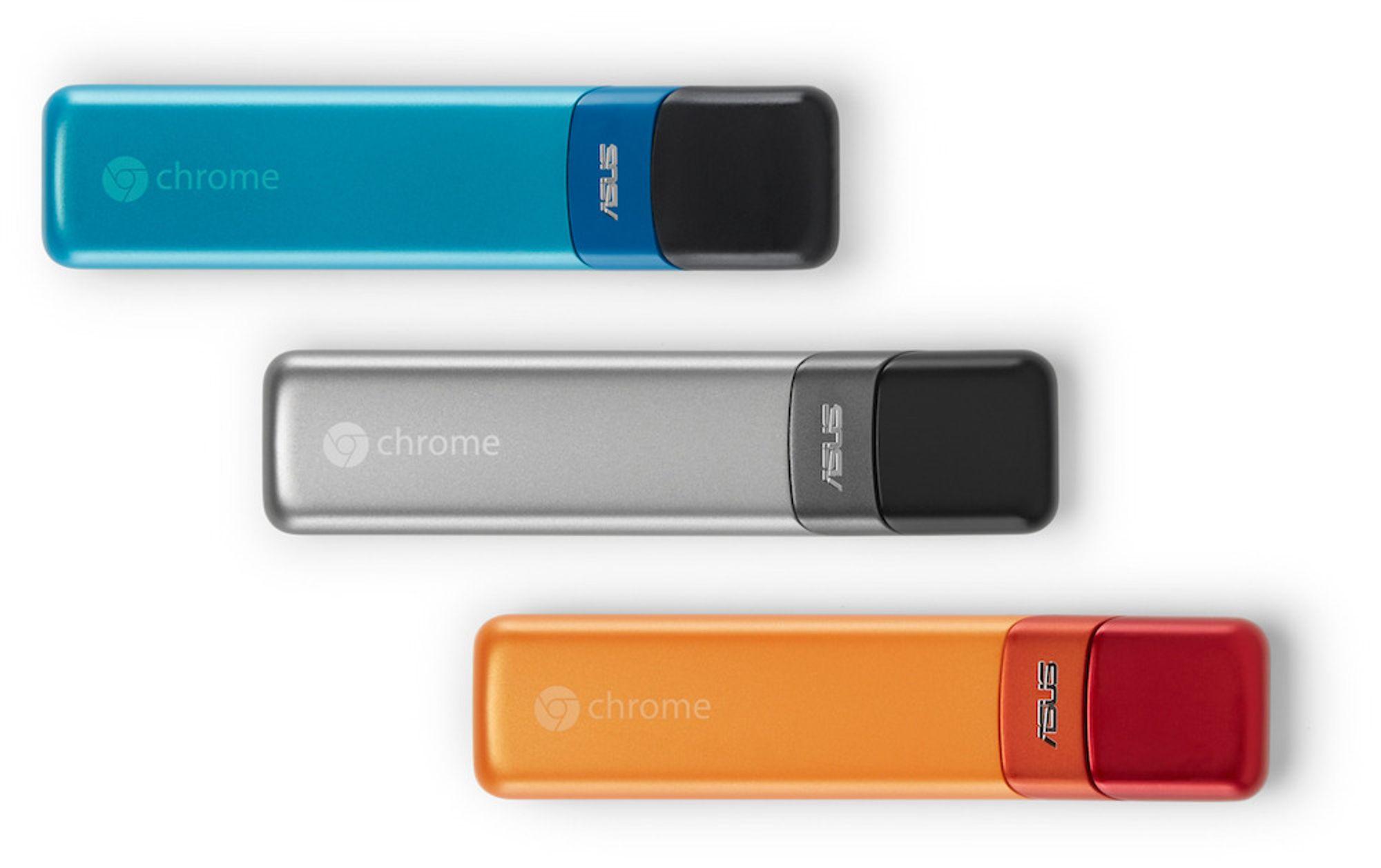 Asus Chromestick kjører Chrome OS og koster rundt 750 kroner.