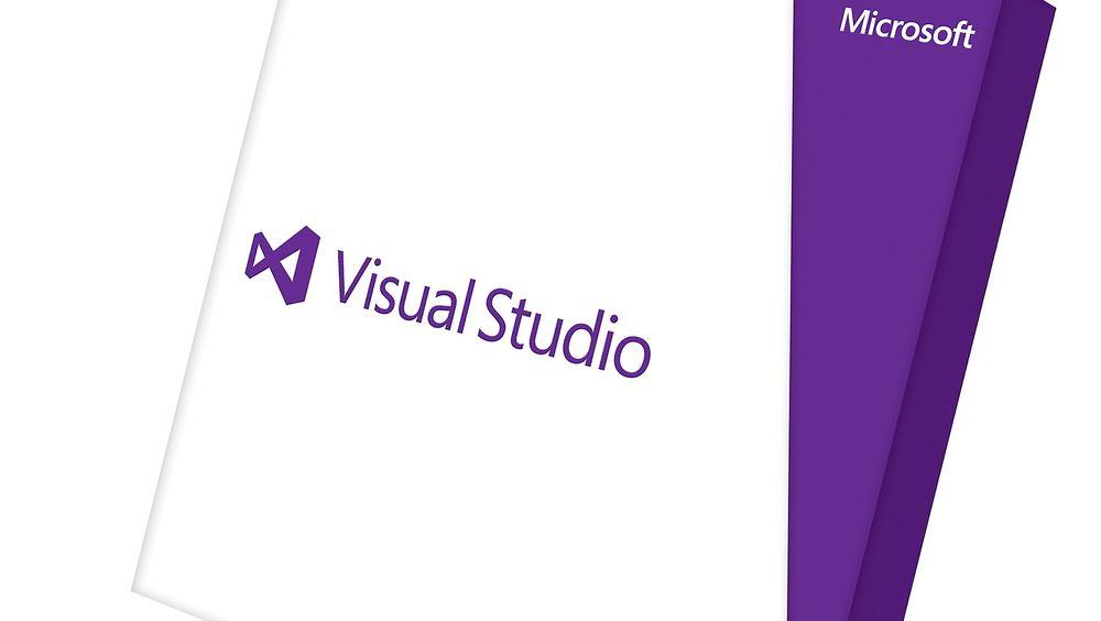 Visual Studio kommer i ny utgave i år. Denne esken tilhører Visual Studio 2013.