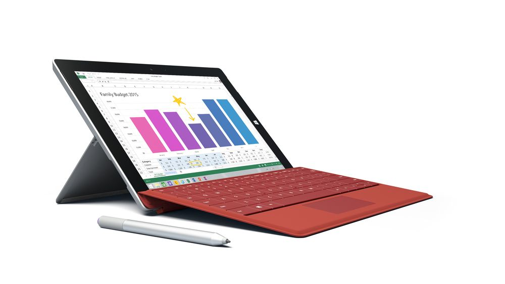 Nye Surface 3 kommer i mai.