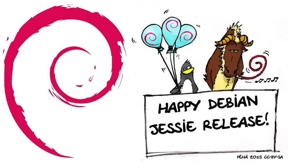 Den nye utgaven av GNU/Linux-distribusjonen Debian har tilnavnet Jessie.