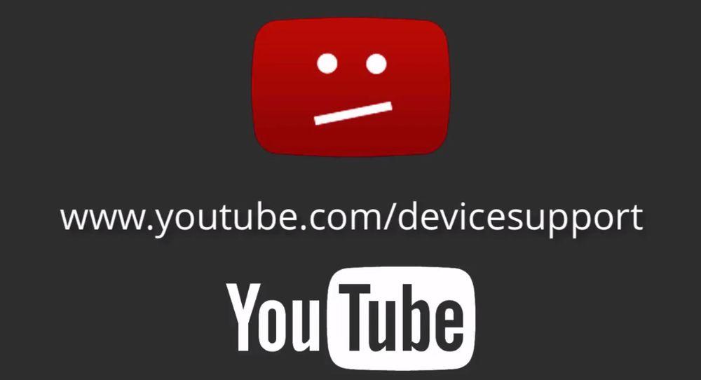 Brukerne med inkompatible enheter vil bli advart om at YouTube vil slutte å fungere.