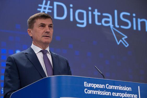Andrus Ansip, tidligere statsminister i Estland, er EUs kommissær med ansvar for det digitale, indre marked.