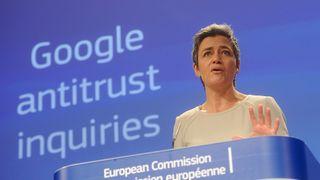 EU til angrep mot Google