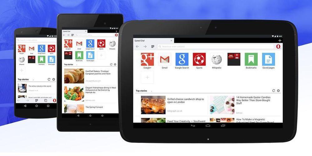 Opera Mini 8 er nå tilgjengelig i Google Play-butikken.