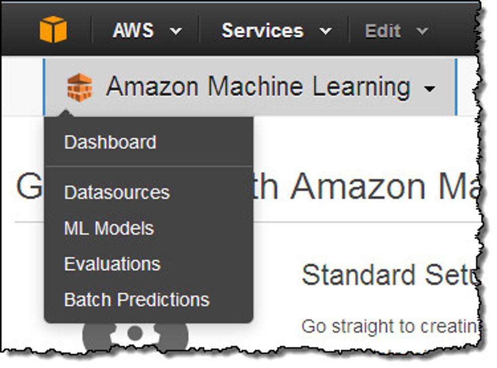 Maskinlæring-tjenesten til Amazon Web Services ble kunngjort i går.