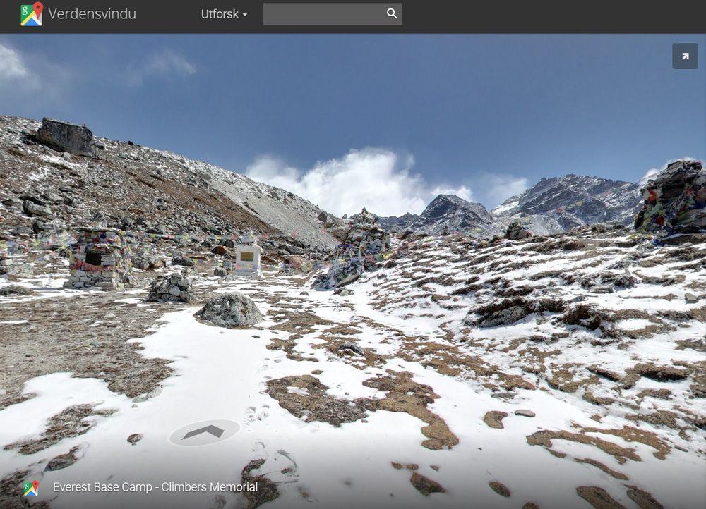 Slik tar det seg ut i høyden. Skjermdump fra Google Street View.
