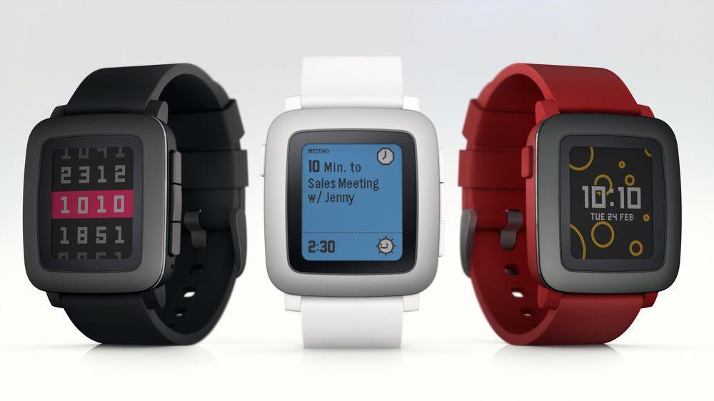 Nye Pebble Time har fargeskjerm, finere design, samme glimrende batterilevetid og nytt grensesnitt.