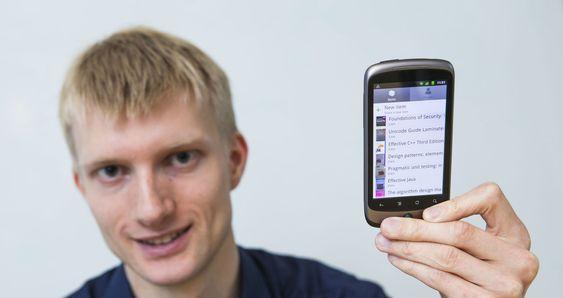 Geir Engdahl forlot Google for å satse på Appen SkyLib.