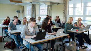 Internett på eksamen ga mersmak