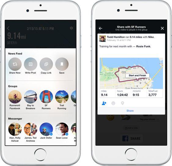 Facebook får nye verktøy for deling fra tredjepartsapper.