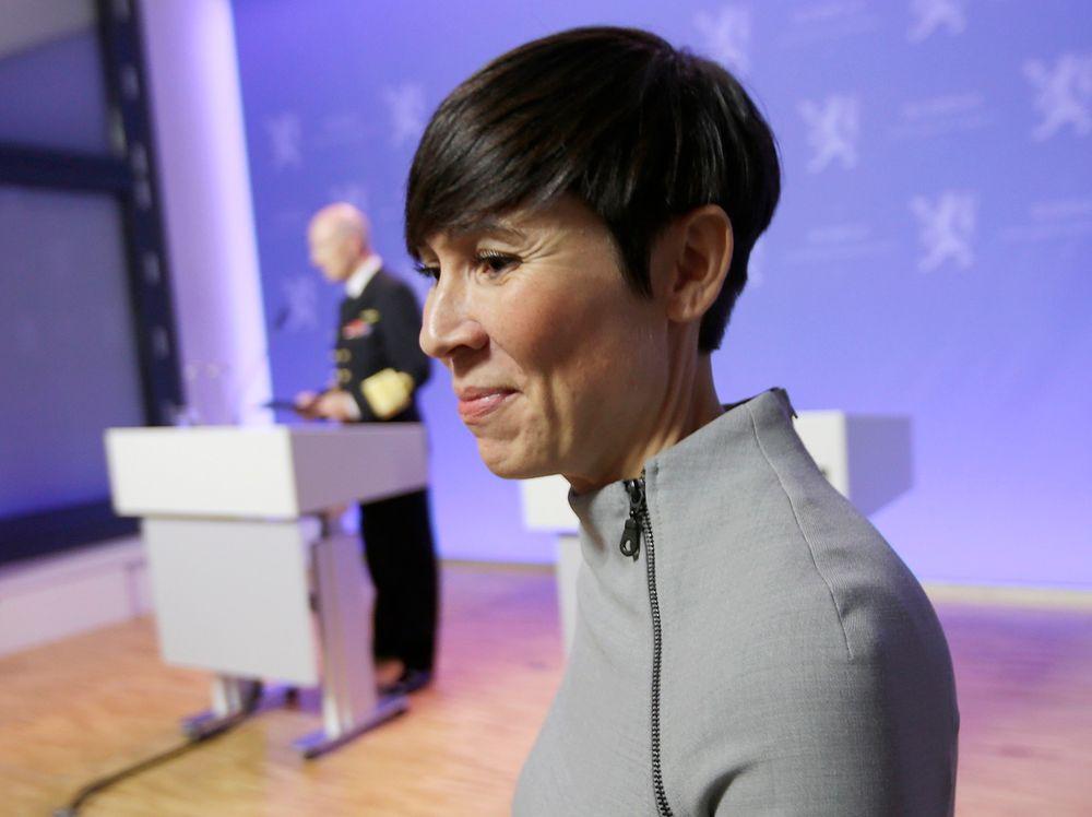 Forsvarsminister Ine Eriksen Søreide har mottatt en rapport fra McKinsey som slakter Forsvarets IT-investeringer, som er på svimlende 3,3 mrd. kroner hvert år. (Arkivfoto)