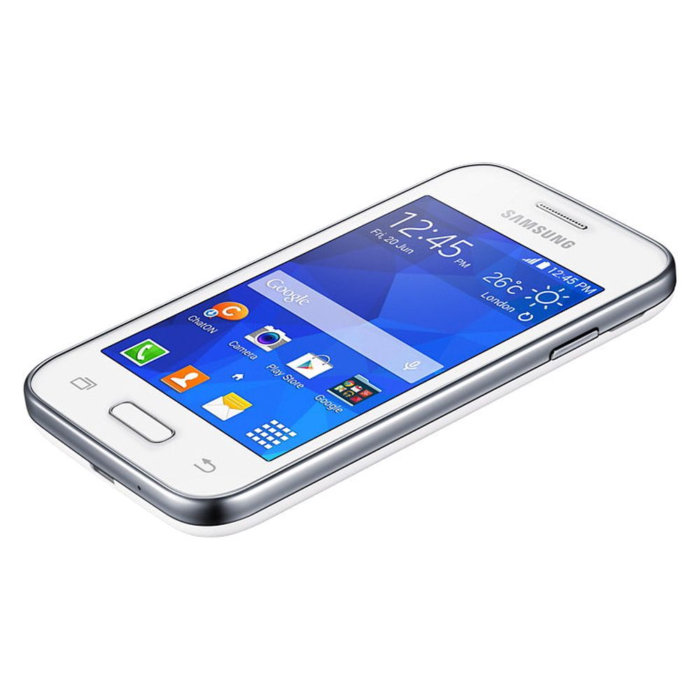 Også enklere mobiler, tilsvarende denne Samsung Galaxy Young 2-modellen, vil i framtiden kunne utstyres med langt mer langringsplass enn det som er vanlig i dag.