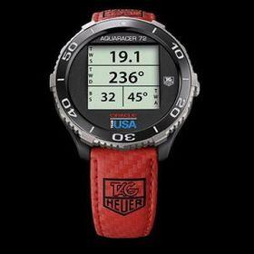 TAG Heuer har også én gang tidligere lagd en digital klokke. Denne modelle, Aquaracer 72 Digital, ble utgitt i et begrenset antall i fjor.