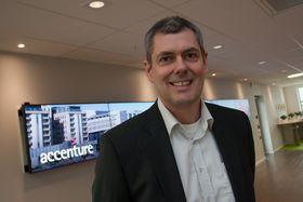 Geir Harald Vale leder Accenture Technology i Norge.