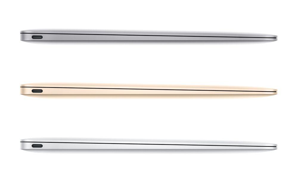 Apples nye Macbook fås i sin sedvanlige sølvutførelse, i tillegg til iPhone-fargene gull og stellargrå. Den blir imidlertid kostbar - 12.590 kroner.