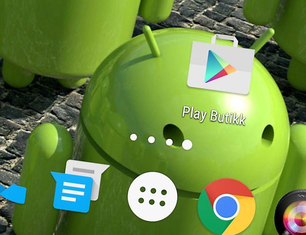 Google Play er den offisielle app-butikken for Android.