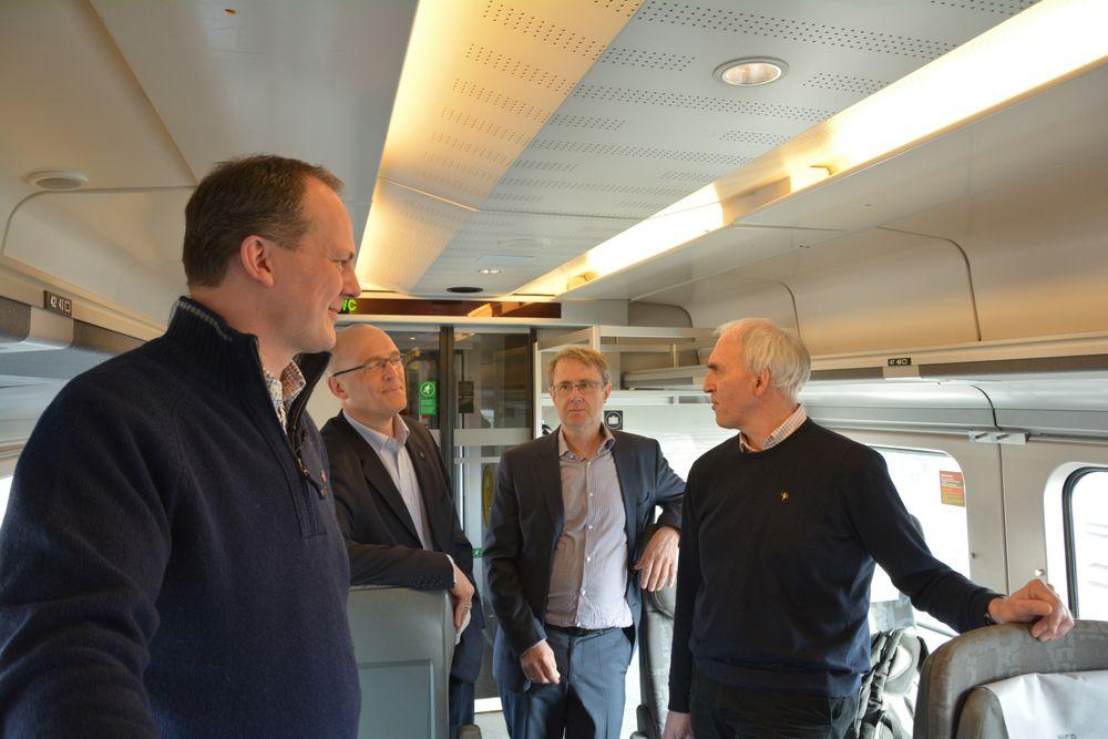 Bedre datadekning vil føre til mer effektivitet ombord for pendlere, sier NSB, Jernbaneverket og Telenor, som samarbeider om utbygging.