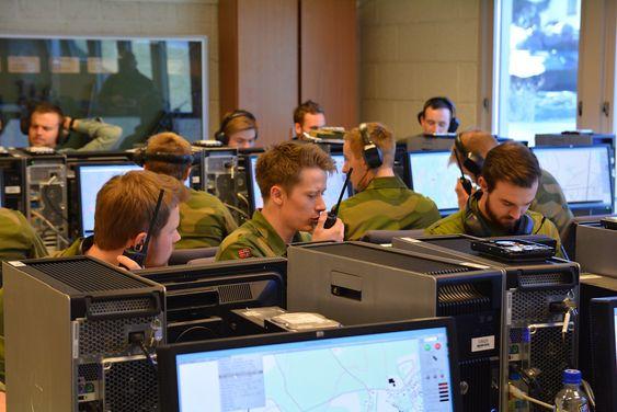 Krigsskolen simulasjon