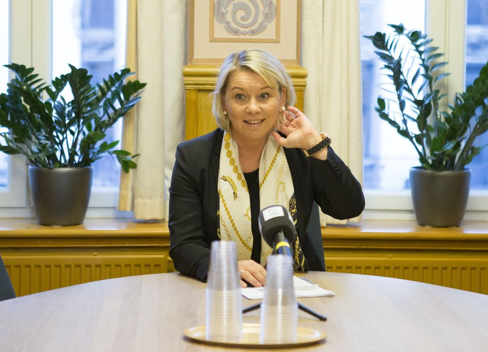 LOVPRISER DIGITALISERINGEN: Næringsminister Monica Mæland (H).