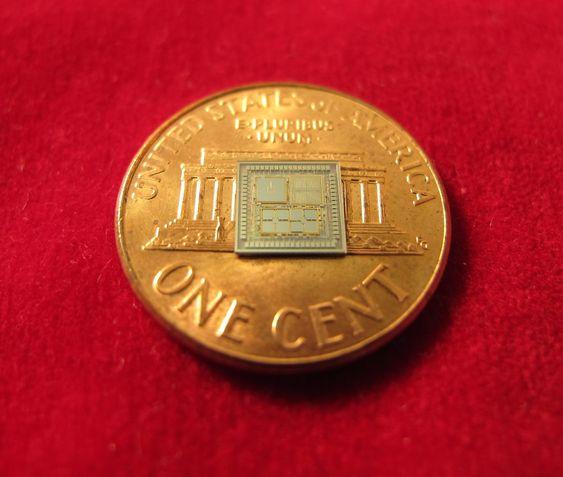 DARPA TIMU mindre enn en mynt.