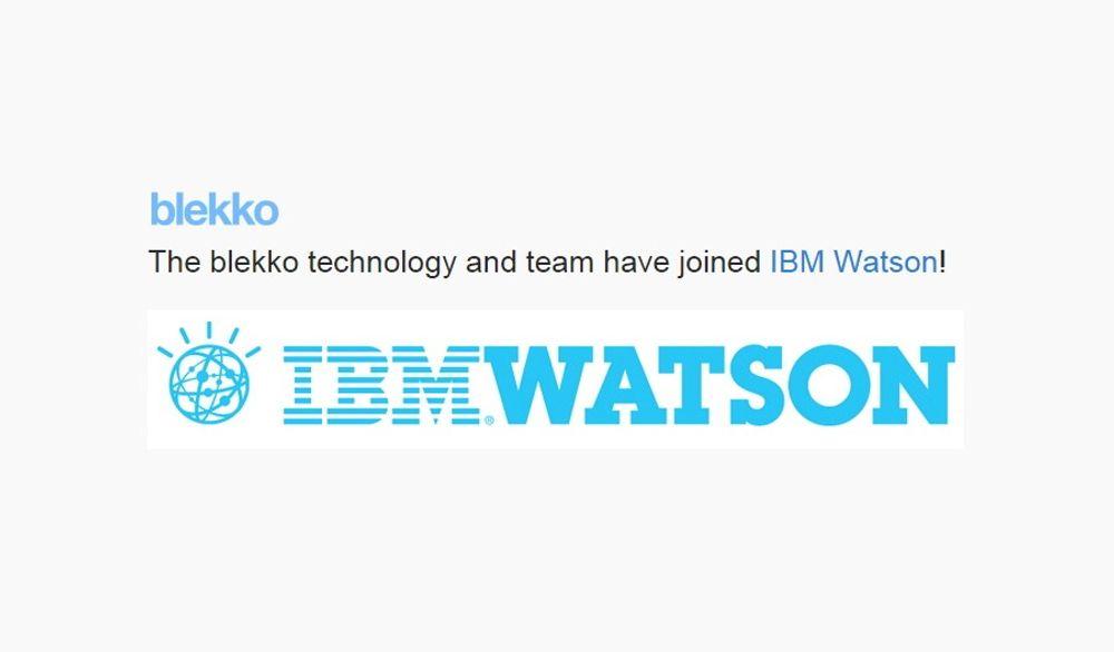 Søketjenesten Blekko er nå nedlagt etter at teknologien ble kjøpt av IBM Watson.