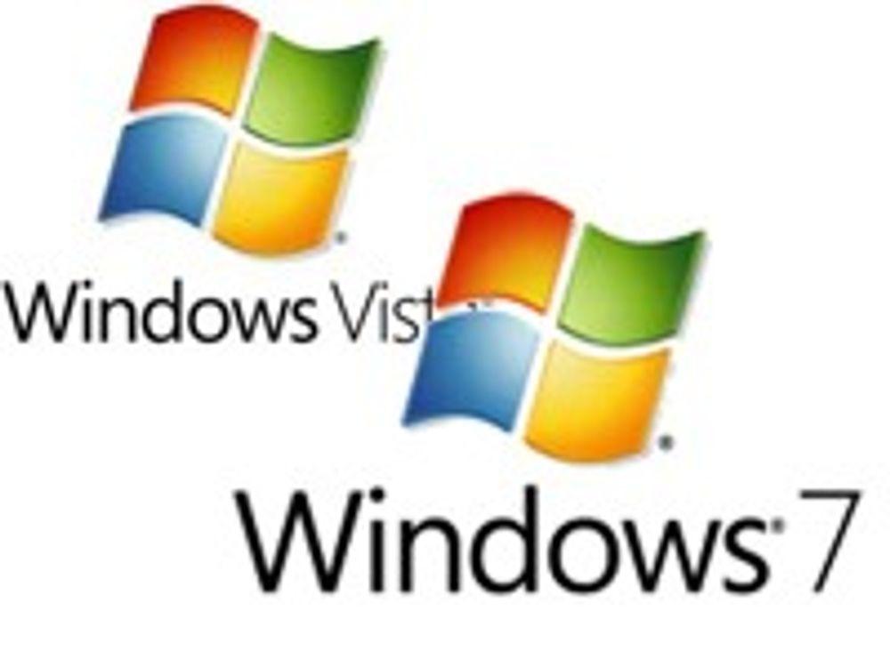 Windows 7 mer bakoverkompatibel enn Vista