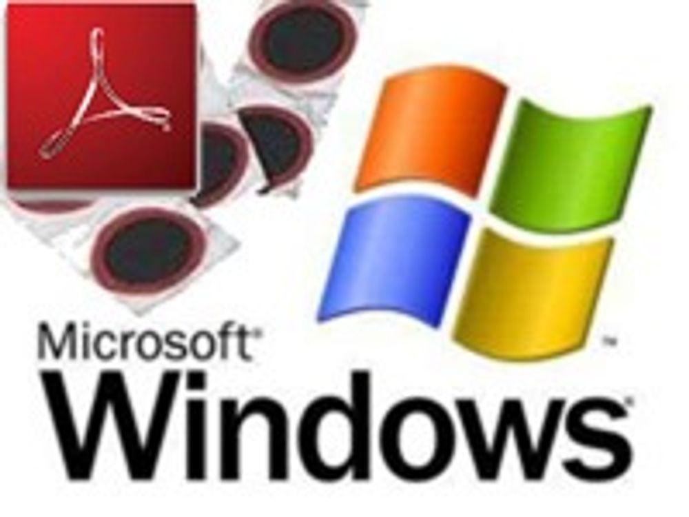 Nye sikkerhetsfikser fra Microsoft og Adobe