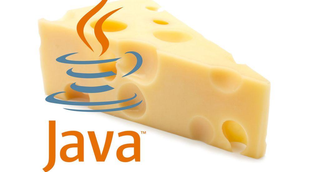 Sikkerheten til Java omtales ofte som like tett som hullene i en sveitserost.