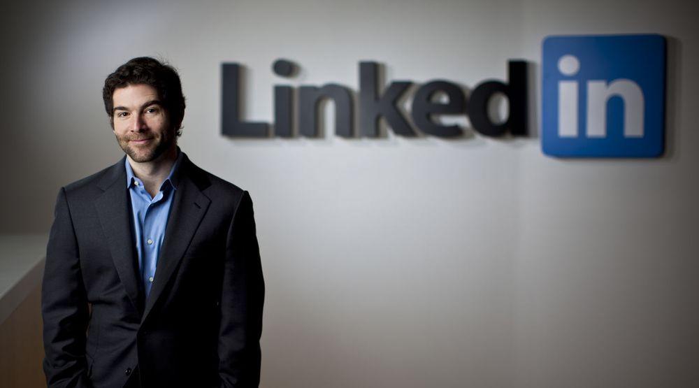 LinkedIn-gründer og toppsjef Jeff Weiner kan nå skilte med over 200 millioner registrerte brukere.